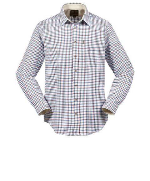 Musto Mens Classic Twill Shirt - 100% Cotton - High Wicking